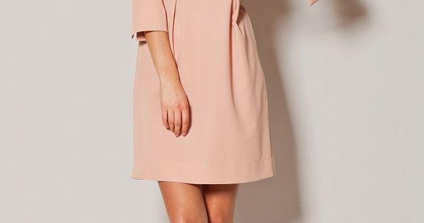 Charmante petite robe tulipe rose pastel parfaite en toute for Petite occasion habille les mariages
