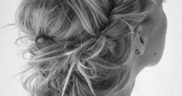 Wedding Hair Style Messy Updo