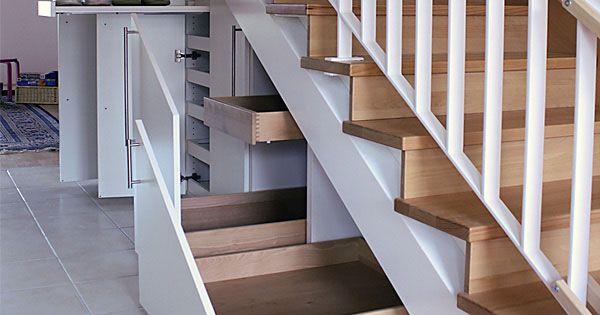 der platz unter der treppe bietet viel stauraum der aber. Black Bedroom Furniture Sets. Home Design Ideas