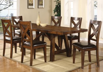 Market Street Black 5 Pc Rectangle Dining Set Dining Room Table