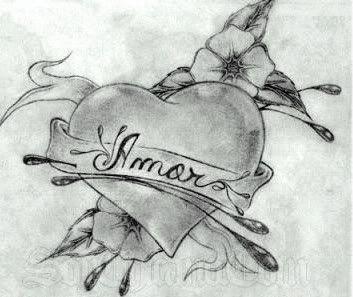Los Mejores Corazones Hechos A Lapiz Por Artistas Graffitis De Amor Dibujos De Corazones Dibujos Romanticos A Lapiz
