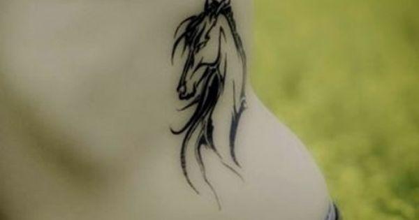 Tattoo caballos equine tattoo pinterest tatuajes caballos y tatuajes - Tatouage corbeau signification ...