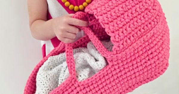 Free Crochet Pattern Baby Carrier : free pattern;crochet; doll carriage Crochet! Pinterest ...