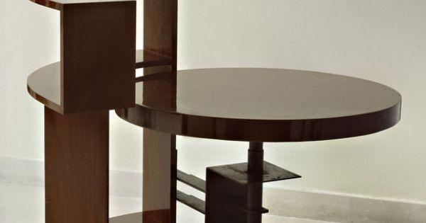 Pierre chareau bookshelf table circa 1928 gissler interiordesign furniture pinterest - Artsy coffee tables ...