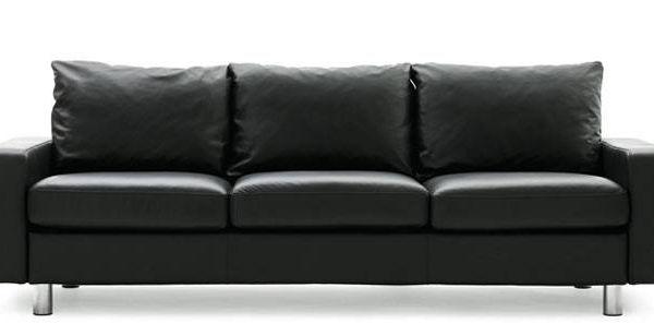 canap cuir contemporain confortable avec assise modulable jusqu 39 la position allong e le. Black Bedroom Furniture Sets. Home Design Ideas
