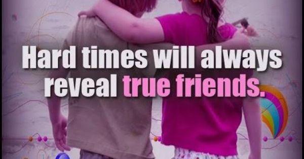 True friends, Friend sayings and Friends on Pinterest