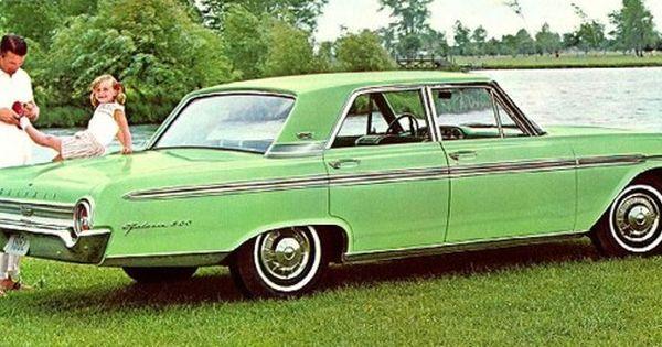 1962 Ford Galaxie 500 Town Sedan Ford Galaxie Vintage Muscle Cars Car Ford