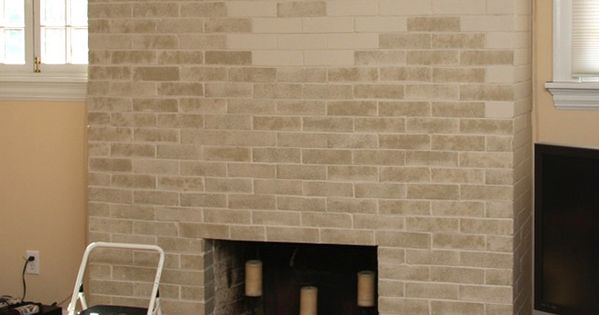 Great Idea From Lowes About How To Paint Out Dated Brick