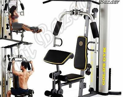 Gym System Strength Training Workout Equipment Home Exercise Machine Weight Lift Ebay In 2020 Workout Machines Strength Training Workouts No Equipment Workout