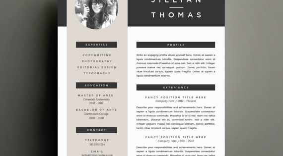 pages cover letter template