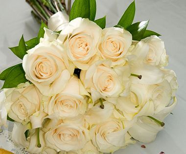Wedding Collection White 10 Pc Fresh Wedding Flowers Sams Club Flowers Wedding Bouquet Champagne