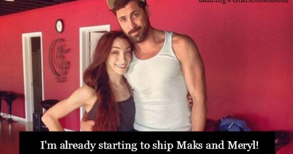 Are maksim and meryl still dating after 3 10