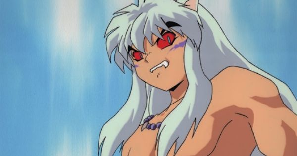 inuyasha possessed by his demon blood