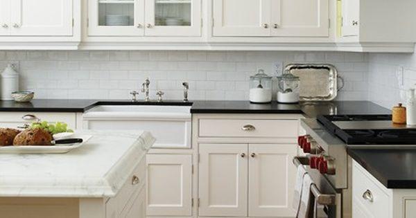Classic White Kitchen | House & Home