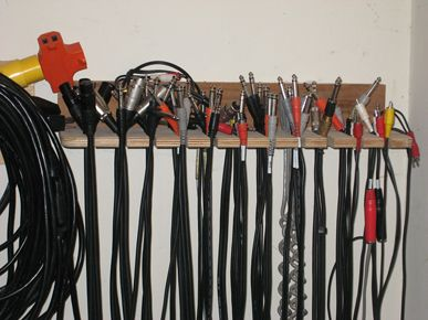 How To Build Your Own Cable Storage Rack Music Room Storage