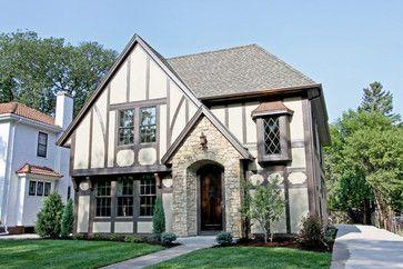 Color Schemes That Work With Brick Tudor House Paint Colors