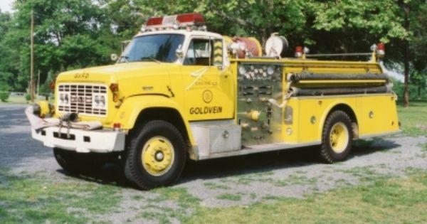 Retired Engine 1979 Gmc Bruco Volunteer Fire Department Fire