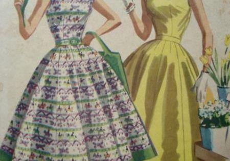 Patron couture gratuit robe ann e 50 tenue retro de reve for Couture de reve