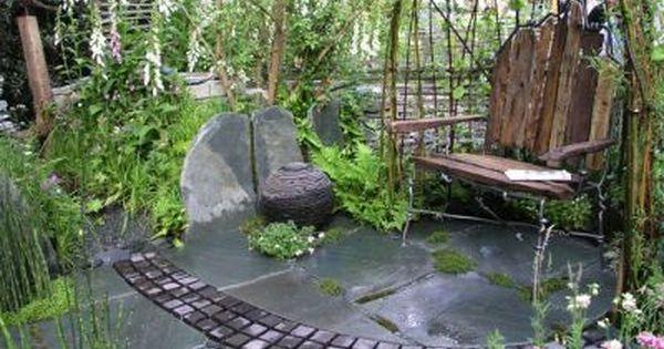 Gartenideen auf kleinstem Raum  Garten diy  Pinterest ...