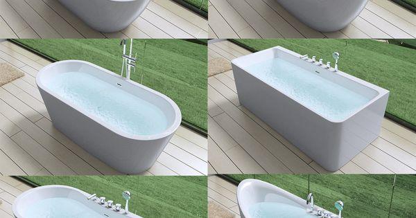 details zu design badewanne freistehende wanne standbadewanne 180 x 80. Black Bedroom Furniture Sets. Home Design Ideas