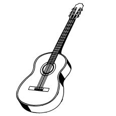 Top 25 Free Printable Guitar Coloring Pages Online Guitar Coloring Pages Easy Guitar