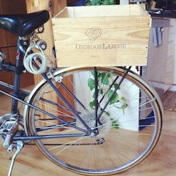 Instructions On How To Attach A Wine Crate To Your Bike You Can
