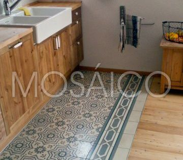 zementfliesen mosaico koblenz haus kueche 3492 3 architecture pinterest haus k chen k che. Black Bedroom Furniture Sets. Home Design Ideas