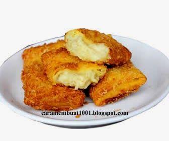 Resep Cara Membuat Durian Goreng Keju Berita Resep Resep Makanan Cemilan
