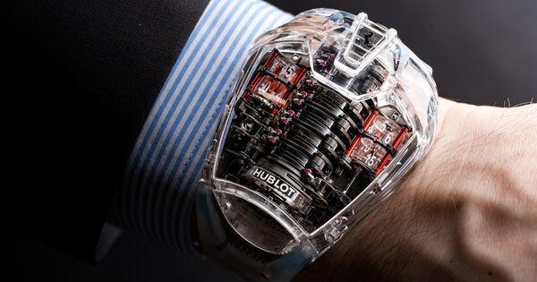 Hublot Mp 05 Laferrari Sapphire Is In The Clear Hublot Popular Womens Watches Luxury Watch Brands