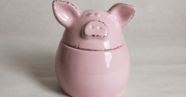 Pote Pig Pottery Piggy Bank Piggy