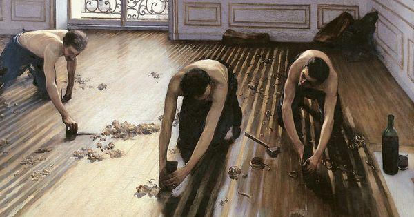 Les Raboteurs De Parquet The Floor Scrapers Los