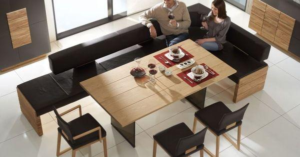 essgruppe essbank aus leder voglauer m bel st hle esszimmer pinterest. Black Bedroom Furniture Sets. Home Design Ideas