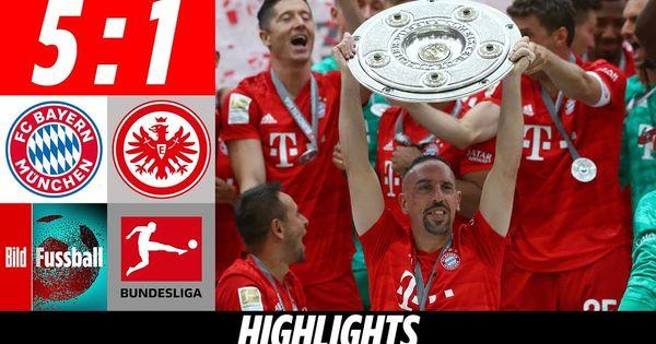 Fc Bayern Frankfurt 5 1 Highlights Bundesliga Furioses Finale