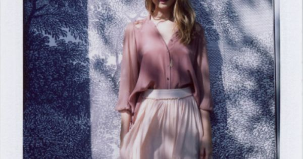 by Lina Scheynius for Anthropologie January 2012
