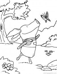 Olivia The Pig Coloring Pages 10 Butterfly Coloring Page