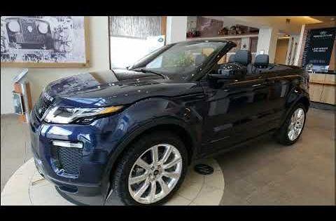 2018 Land Rover Range Rover Evoque Hse Dynamic Range Rover Evoque Land Rover Range Rover