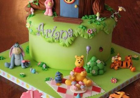 Pooh & Friends Cake Cakes Disney WinnieThePooh