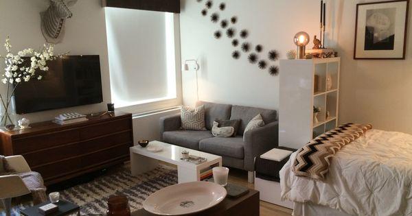 5 studio apartment layouts that work wg zimmer einrichtung und dekoration. Black Bedroom Furniture Sets. Home Design Ideas