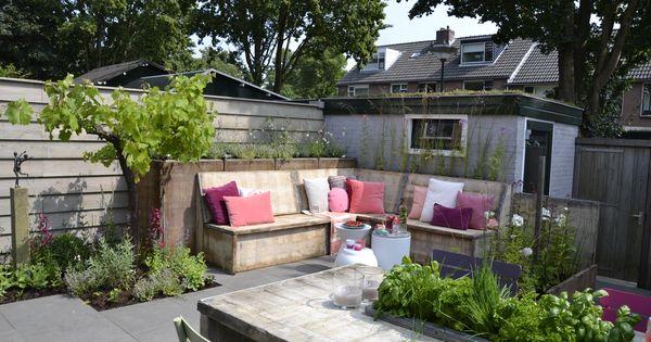 Tuinen gardens ontwerp design mariette van leeuwen voor deze uitzending amerongen zijn - Luifel ontwerp voor patio ...
