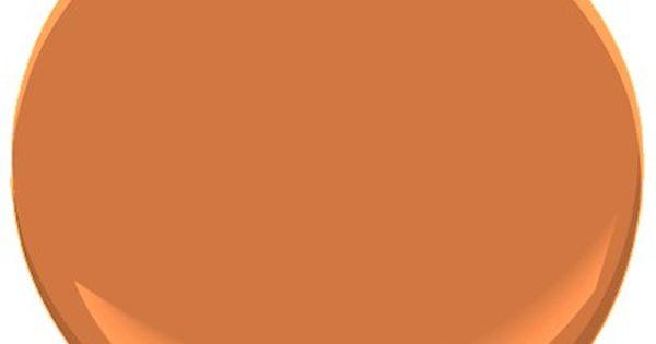 Benjamin Moore Pumpkin Pie Paint Color For The Home
