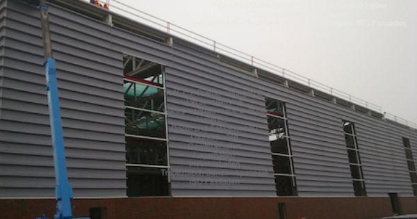 Haren Ems Enercon Industriebau Hallenbau Hebebuhne Dach Und Fassadenbau Fassade Trpezblech Sandwichpaneele Iso Paneele Rohbau Sta Fassadenbau Stahlhalle Rohbau