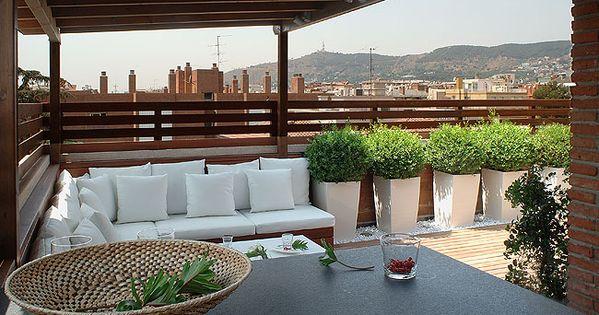 Dise o terrazas dise o exteriores decoraci n exteriores - Decoraciones de exteriores ...