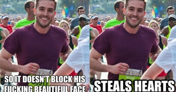 """Ridiculously photogenic guy"" might be my new favorite meme"