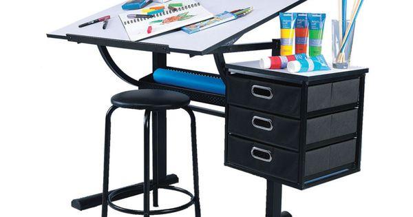 Artists Loft Creative Design Table Sketching Shelves