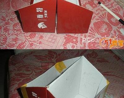 Clever Shoebox Upcycle via DIY and Craft Tutorials DIY Crafts