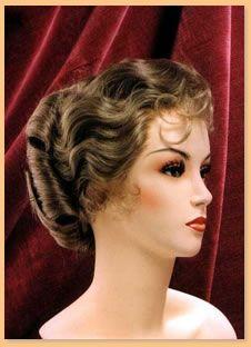 Period Wigs: 1890's Women's   Wigs, Elegant