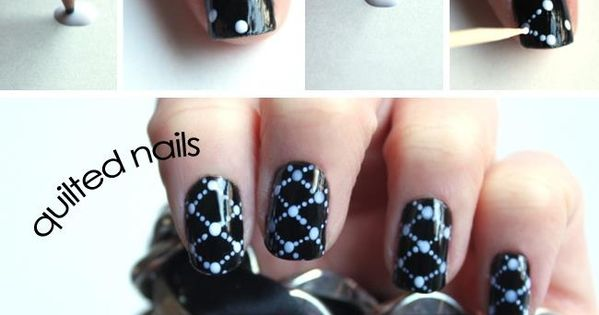 Who said polka dots? Extremely easy to do. Grab you favorite nail