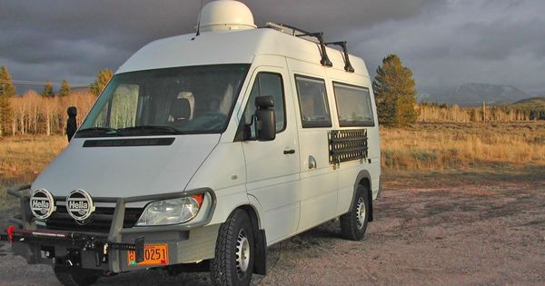 Mikey's Sprinter Expedition Camper: Chassis and Exterior ...