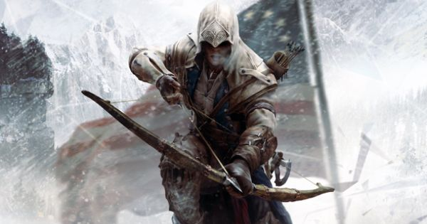 Assassins Creed III Connor. Love this art.