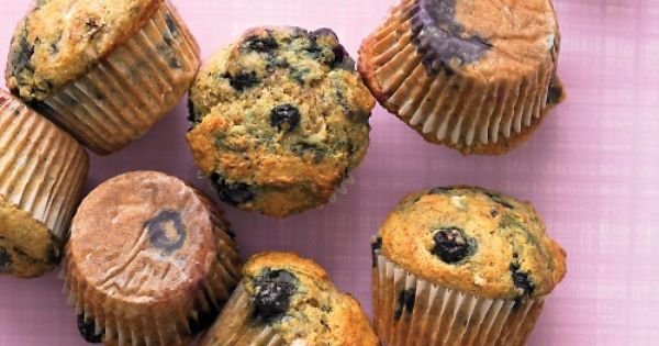 Healthy Banana Blueberry Muffin Recipe